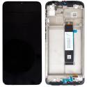 LCDCHASSIS-REDMI9T - Ecran complet Xiaomi Redmi 9T Vitre tactile + LCD sur chassis coloris noir