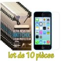 LOT-10FILMNEWPROIP5C - Lot de 10 films haute protection New Protech pour iPhone 5c