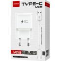 LTP-J8516-TYPEC - LT-Plus Chargeur secteur USB Fast-Charge + câble USB-C