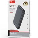 LTP-P8582NOIR - Batterie PowerBank 5.000 mAh noire extra compacte de LT-Plus
