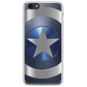 MARVEL-MPCCAPAM1804 - Coque souple iPhone 7/8 Captain America gris sous licence Marvel