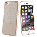 MLPAK0013 - Pack féminin Coque Strass iPhone 6/7/8 et vernis à ongles couleur gold