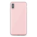 MOSHI-IGLAZEIPXSMAXROSE - Coque iPhone XS-Max iGlaze de Moshi rose avec contour rose doré