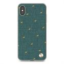 MOSHI-VESTAIPXSMAXVERT - Coque Moshi pour iPhone XS Max Gamme Vesta coloris vert