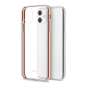MOSHI-VITROIP11GOLD - Coque iPhone 11 Moshi Vitros dos transparent et contour gold