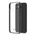 MOSHI-VITROIP11NOIR - Coque iPhone 11 Moshi Vitros dos transparent et contour noir