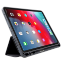 MUTURAL-IPAD12918NOIR - Etui iPad 12.9 (2018) Mutural Smart Stand coloris noir