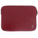 MW-410079-AIR13 - Pochette zippée MacBook Air 13 pouces rouge - mousse protectrice