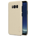 NILLKFROSTGALS8GOLD - Coque robuste Galaxy S8 Nillkin Frosted gold