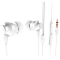 NOKIA-WH201BLANC - Nokia WH-201 blanc Casque filaire intra-auriculaire ave micro