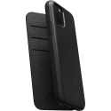 NOMAD-FOLIO11NOIR - Etui iPhone 11 Folio Rugged en cuir noir de Nomad