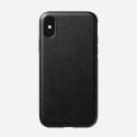 NOMAD-RUGGEDXSMAXNOIR - Coque iPhone Xs Max série Rugged en cuir noir de Nomad