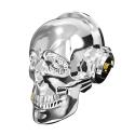 ONEDER-SKULLSILVER - Enceinte Oneder SKULL crâne tête de mort coloris chrome