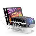 ORICO-10USB120WBLANC - Station de chargement Orico Smart-Charger Family pour 10 appareils