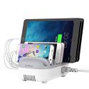 ORICO-5USB40WBLANC - Station de chargement Orico Smart-Charger Family pour 5 appareils