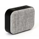 PLATINET-OG5LG - Enceinte nomade bluetooth 3W + Radio FM coloris gris clair