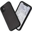 RHINO-IP11BROSSE - Coque RhinoShield pour iPhone 11 aspect métal brossé noir