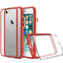 RHINO-MODNXIP7PLUSROUGE - Coque RhinoShield Mod-NX pour iPhone 7+/8+ coloris rouge