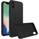RHINO-XSMAXBROSSE - Coque RhinoShield pour iPhone XS-MAX aspect métal brossé noir