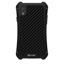 RJUST-SHOCKIPXRNOIR - Coque iPhone XR R-Just ShockProof noir métal + carbone