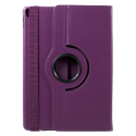 ROTATE-IPADPRO105VIOLET - Etui iPad Pro 10.5 aspect cuir violet rotatif fonction support