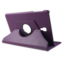 ROTATE-T590VIOLET - Etui rotatif Galaxy Tab-A 10.5 (2018) fonction stand coloris violet
