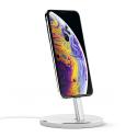 SATECHI-ST-AIPDS - Dock et charge et support iPhone Satechi en aluminium Silver