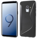 SLINECARBO-S9 - Coque souple Galaxy S9 motif S-Line look carbone