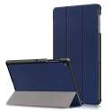 SMART-TABS5EMARINE - Protection avec rabat smart Galaxy Tab-S5e bleu marine