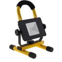 SPOT10WLEDJAUNE - Spot à LED 10W avec batterie autonomie 3 heures
