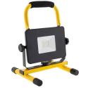 SPOT20WLEDJAUNE - Spot à LED 20W avec batterie autonomie 3 heures