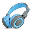 STK-PUMPLITEBLEU - Caque bluetooth stéréo gris et bleu Pump Lite de STK