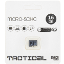 TF16GTACTICAL - Carte Micro-SD 16Go Classe-10 de Tactical