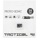TF16GTACTICAL - Carte Micro-SD 16Go Classe-10 de Tactical