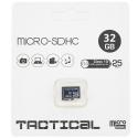 TF32GTACTICAL - Carte Micro-SD 32 Go Classe-10 de Tactical