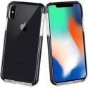 TGBKC0011-IPXSMAX - Coque antichoc iPhone XS MAX Tiger 3M de Muvit noire et transparente