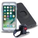 TIGRA-MCIPH72BK - Kit fixation TIGRA pour vélo avec Coque et Support iPhone 7/8