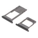 TIROIR-A52017NOIR - Tiroir SIM et Micro-SD pour Galaxy A5-2017 coloris noir