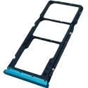 TIROIR-REDMI9BLEU - Tiroir SIM + carte mémoire Xiaomi Redmi 9 coloris bleu