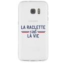 TPU0GALS7RACLETTEVIE - Coque souple pour Samsung Galaxy S7 SM-G930 avec impression Motifs la raclette c'est la vie