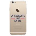 TPU0IPHONE6SRACLETTEVIE - Coque souple pour iPhone 6/6S avec impression Motifs la raclette c'est la vie