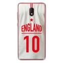 TPU0LENNY5MAILLOTANGLETERR - Coque souple pour Wiko Lenny 5 avec impression Motifs Maillot de Football Angleterre