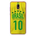 TPU0LENNY5MAILLOTBRESIL - Coque souple pour Wiko Lenny 5 avec impression Motifs Maillot de Football Brésil