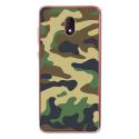 TPU0LENNY5MILITAIREVERT - Coque souple pour Wiko Lenny 5 avec impression Motifs Camouflage militaire vert