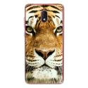 TPU0LENNY5TIGRE - Coque souple pour Wiko Lenny 5 avec impression Motifs tête de tigre