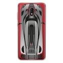 TPU0LENNY5VOITURE - Coque souple pour Wiko Lenny 5 avec impression Motifs voiture de course