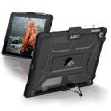 UAG-IPD17-L-AS - Coque antichocs UAG pour iPad 2017/2018 coloris gris fumé contour noir