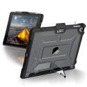 UAG-IPD17-L-IC - Coque antichocs UAG pour iPad 2017/2018 coloris transparent contour noir