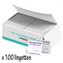 USAMS-100LINGETTES - 100 x lingettes désinfectantes pour smartphone tablette