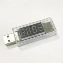 USB-METER - Chargeur USB avec LCD pour mesurer tension et intensité